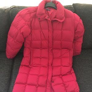 Jackets & Blazers - red winter coat for women
